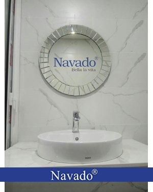 Gương soi phòng tắm nghệ thuật The Sun