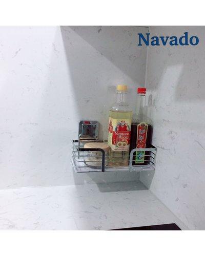 Phụ kiện kệ inox bếp đựng gia vị tiện ích Navado