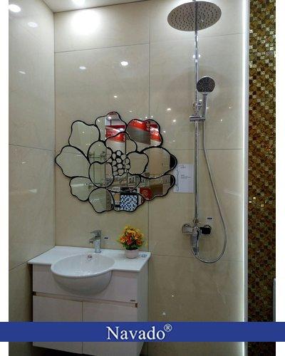 Gương thiết bị vệ sinh đẹp độc đáo Navado rose