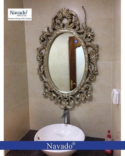 Gương phòng tắm tân cổ điển Zues
