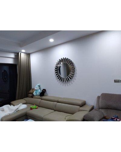 Gương treo nghệ thuật decor trang trí phòng khách mystery