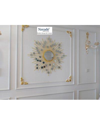 Gương decor treo tường Hebes gold