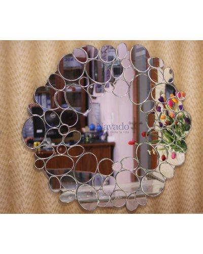 Gương treo tường sảnh phòng khách Queen
