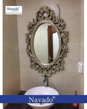 Gương phòng tắm tân cổ điển cao cấp  zuse