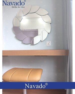 Gương trang điểm treo tường cao cấp decor phòng ngủ Lacos