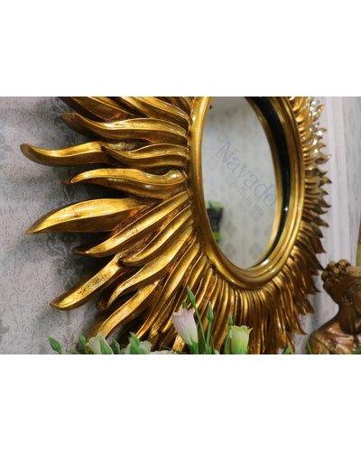 Gương decor treo tường phòng khách cổ điển Mare