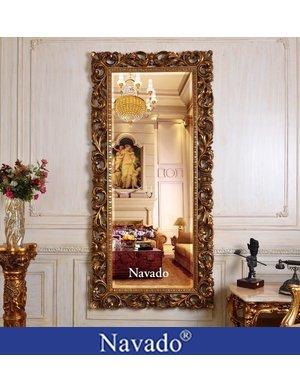 Gương treo tường soi toàn thân tân cổ điển ANGELINA