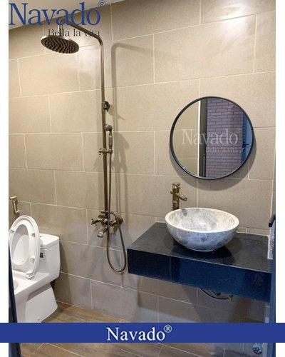 Gương phòng tắm Optima D600mm