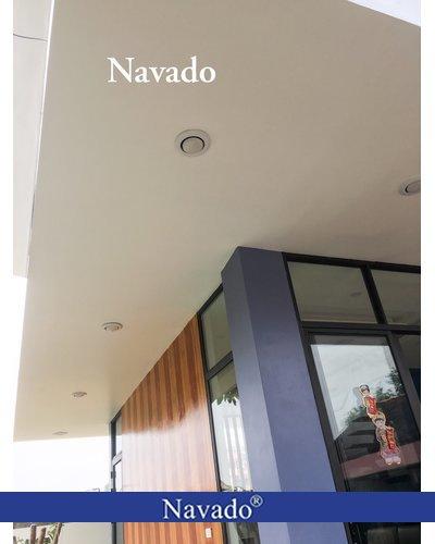 Đèn âm trần hành lang 1 bóng Navado