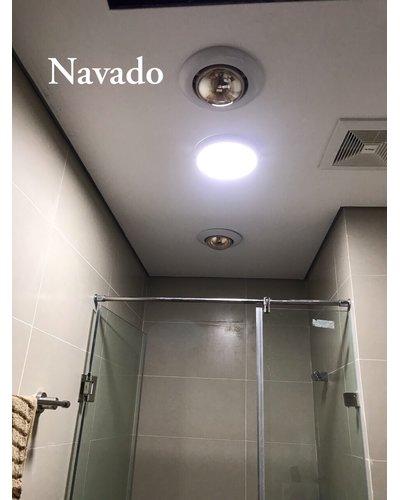 Đèn sưởi nhà tắm hồng ngoại 1 bóng