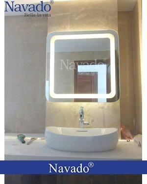 Gương phòng tắm đèn led Hà Nội Navado