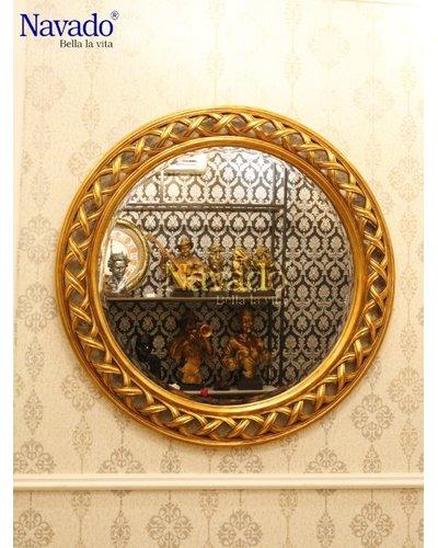 Gương nghệ thuật phòng khách tân cổ điển Helios