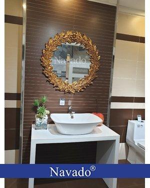 Gương phòng tắm tân cổ điển Đà Nẵng