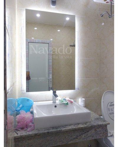 Gương đèn led phòng tắm hiện đại Navado