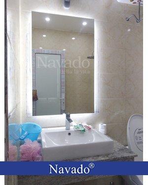 Gương đèn led phòng tắm vinhome hà nội
