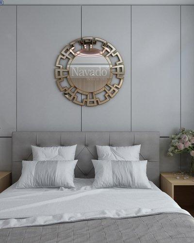 Gương phòng ngủ tân cổ điển Mikita