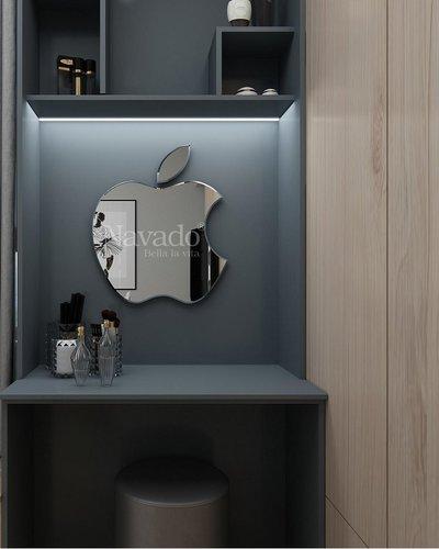 Gương bàn trang điểm treo tường Apple