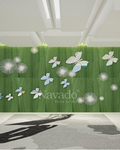 Gương nghệ thuật treo tường Butterfly