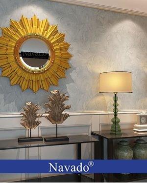 Gương cổ điển phòng khách Artemis