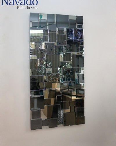 Gương nghệ thuật trang trí phòng khách Tiamo