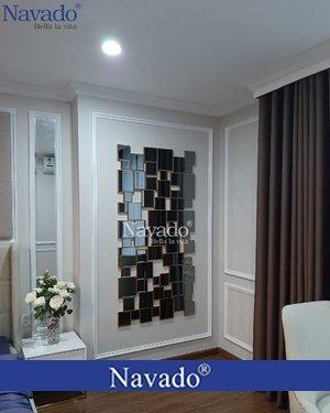 Gương nghệ thuật phòng ngủ Luxury 02