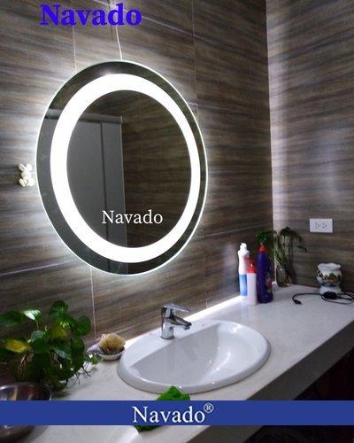 Gương đèn led tròn cao cấp phi 60cm
