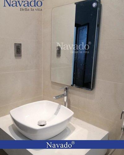 Gương treo phòng tắm cao cấp Nav102C