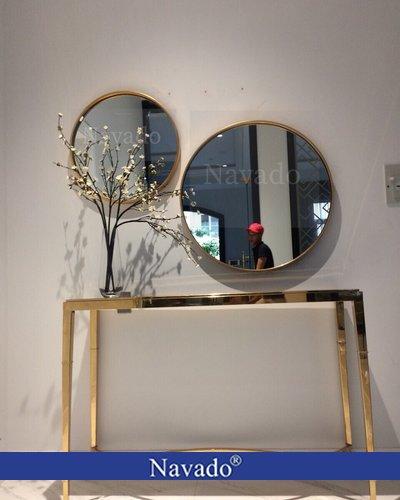 Gương treo phòng khách Oras