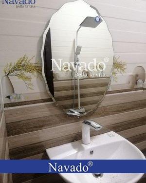 Gương nhà tắm cao cấp Nav542C