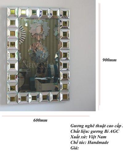 Gương trang trí nội thất Aiden