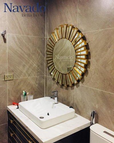 Gương phòng tắm tân cổ điển Athena