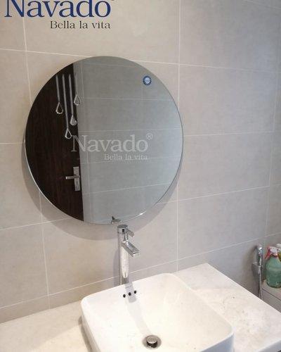 Gương tròn phòng tắm Raining