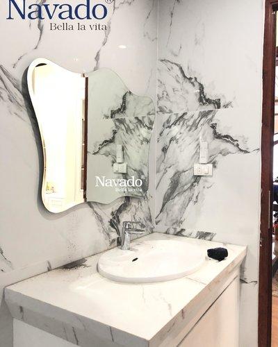 Gương nhà tắm treo tường NAV-106D