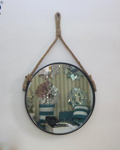 Gương trang điểm treo dây thừng