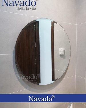 Gương tròn mài vát D60cm