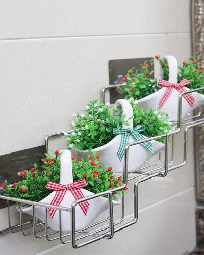 Giá đựng đồ phòng tắm dán tường Gs-5015