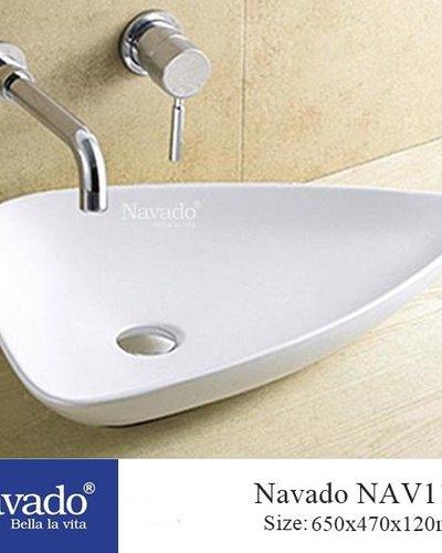 Chậu rửa mặt Lavabo Sứ nghệ thuật RS 1007