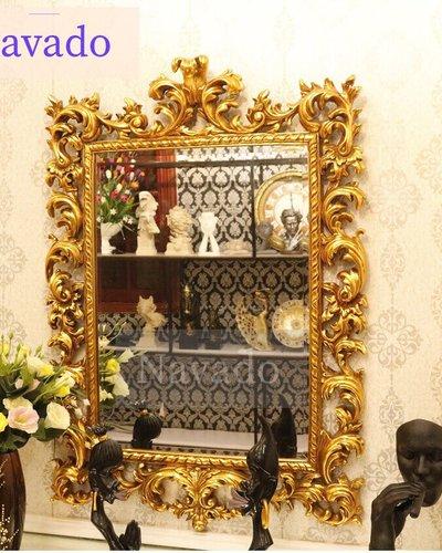 Gương trang trí tân cổ điển phòng khách NIKE