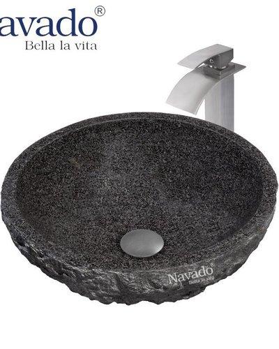 Chậu Lavabo rửa mặt cao cấp đá tự nhiên