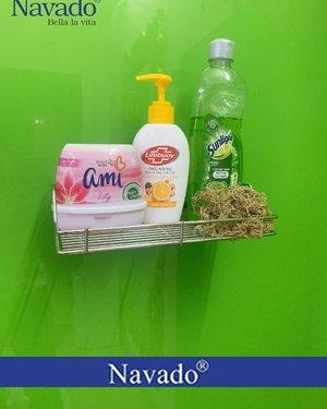 Giá đỡ inox dán tường phòng tắm siêu chắc