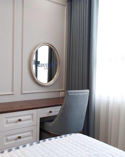 Gương trang điểm phòng ngủ tân cổ điển Iris