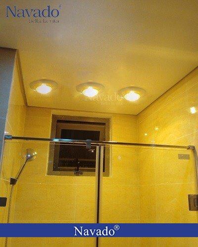 Sản xuất đèn sưởi âm trần nhà tắm 3 bóng