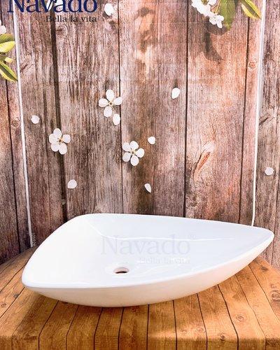 Chậu sứ nghệ thuật phòng tắm RS 1007