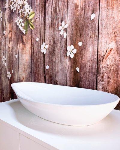 Chậu lavabo men sứ nghệ thuật phòng tắm RS1155