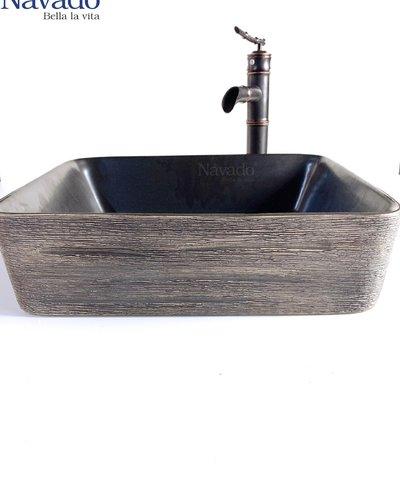 Bộ vòi chậu sứ nghệ thuật phòng tắm 176