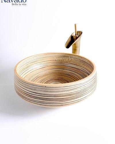 Bộ vòi chậu lavabo nghệ thuật RS 1146WB