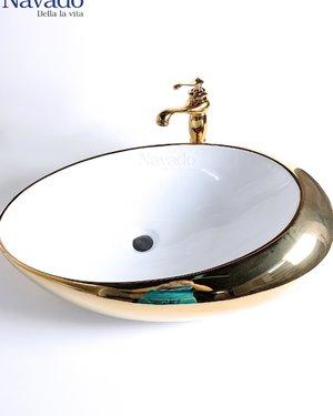 Bộ vòi chậu lavabo phòng tắm sang trọng