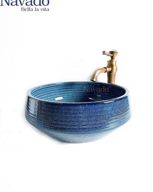 Bộ vòi chậu sứ nghệ thuật phòng tắm RS 1146E
