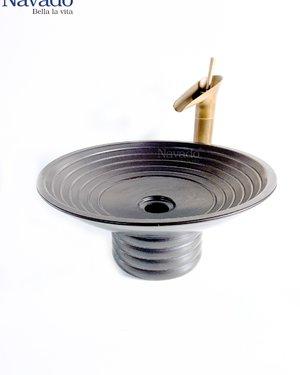 Bộ vòi chậu sứ nghệ thuật phòng tắm RS 135