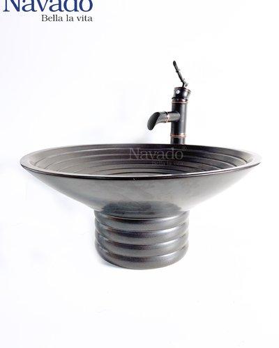 Bán Chậu gốm sứ nghệ thuật phòng tắm cao cấp RS135